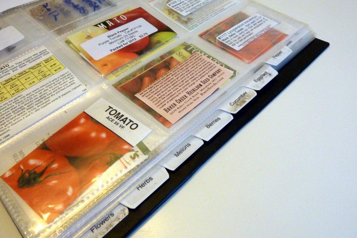 Tips for Organizing and Storing Seed Packets